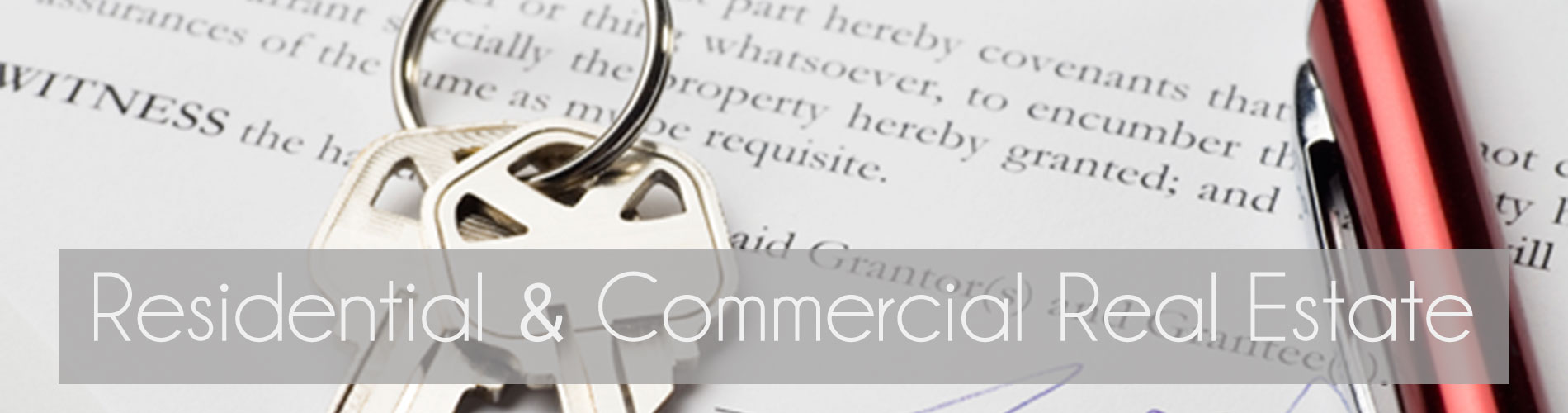 Residential & Commercial Real Estate Law